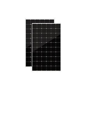 隆基光伏305W雙玻雙面發電太陽能電池板價格5柵線